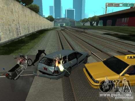 The realistic blast machines for GTA San Andreas second screenshot