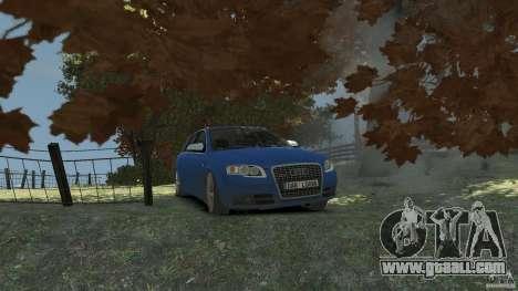 Audi S4 Avant for GTA 4 side view