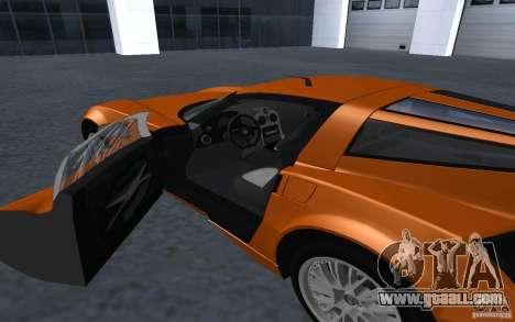 Spada Codatronca TS Concept 2008 for GTA San Andreas right view