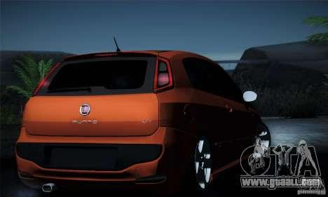 Fiat Punto Evo 2010 Edit for GTA San Andreas interior