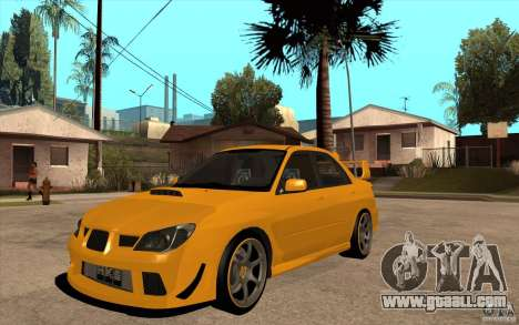 Subaru Impreza 2006 WRX STI for GTA San Andreas