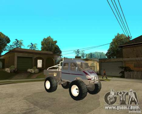 GAS KeržaK (Swamp Buggy) for GTA San Andreas right view