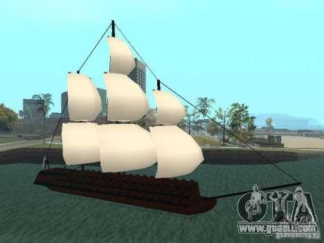XVIII Century Battleship for GTA San Andreas