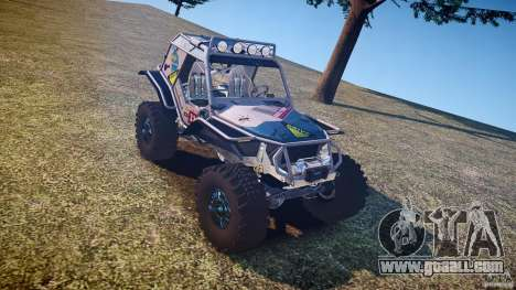 Mud Bogger v1.0 for GTA 4 inner view