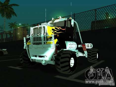 Kenworth W900 Monster for GTA San Andreas