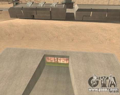 Pneumatic gate in area 69 for GTA San Andreas second screenshot