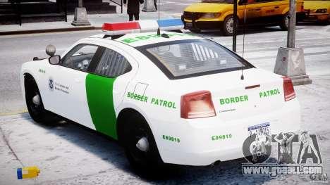 Dodge Charger US Border Patrol CHGR-V2.1M [ELS] for GTA 4 side view