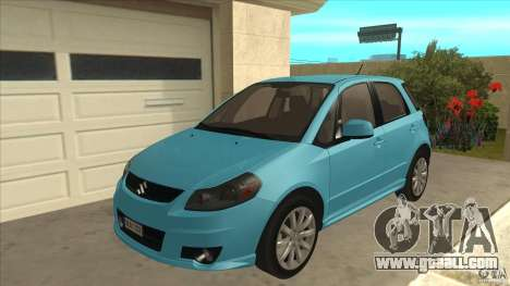Suzuki SX4 Sportback 2011 for GTA San Andreas
