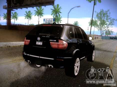 BMW X5M 2011 for GTA San Andreas left view