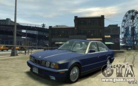 BMW 535i (E34) for GTA 4