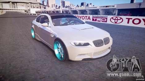 BMW E92 for GTA 4 inner view