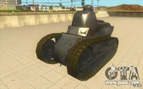 Renault FT17 for GTA San Andreas