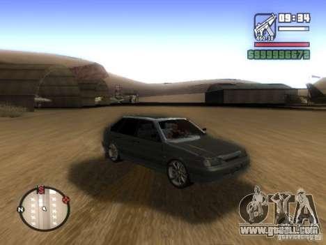 ВАЗ 2114 Tuning for GTA San Andreas