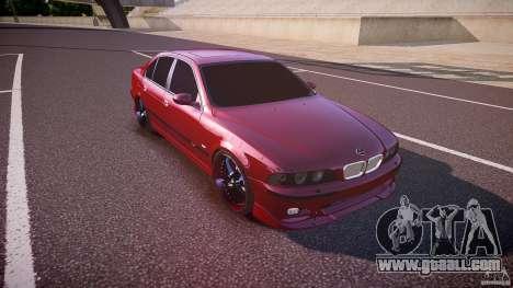 BMW M5 E39 Hamann [Beta] for GTA 4 inner view