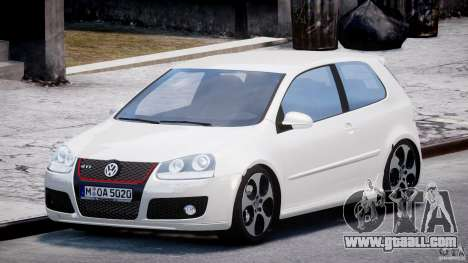 Volkswagen Golf GTI 2006 v1.0 for GTA 4