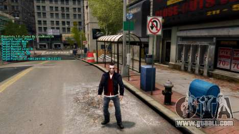 Information about the player for GTA 4 third screenshot