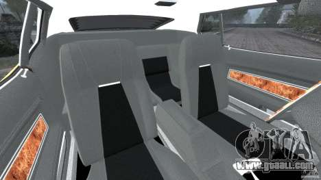 Ford Mustang Mach 1 1973 for GTA 4 inner view