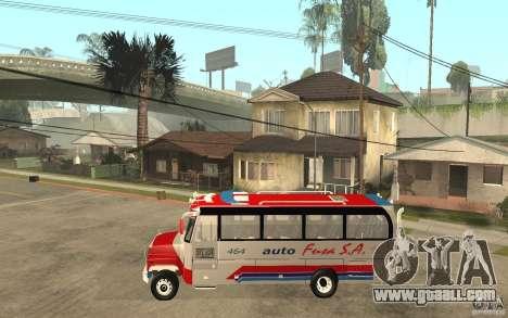 Kodiak B70 - Autofusa Colombia for GTA San Andreas left view