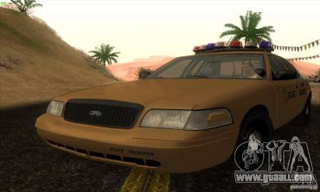 Ford Crown Victoria Kansas Police for GTA San Andreas