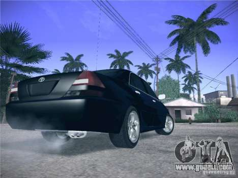 Toyota Mark II Grande for GTA San Andreas back view