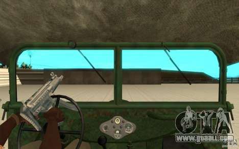 Gaz-64 skin 1 for GTA San Andreas right view