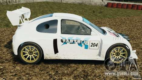 Colin McRae OGIO Rallycross for GTA 4 left view