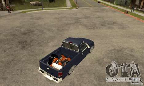 Chevrolet S-10 1996 Draggin for GTA San Andreas right view