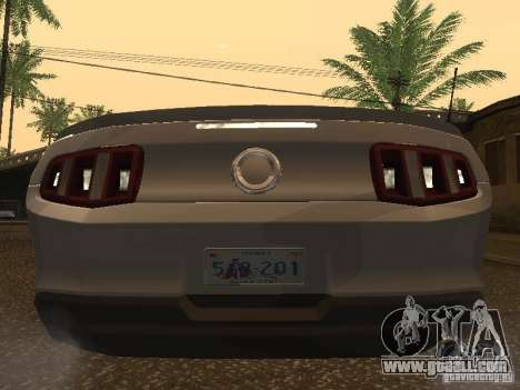Ford Mustang 2011 GT for GTA San Andreas right view