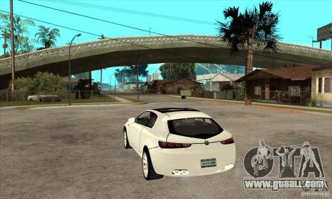 Alfa Romeo Brera for GTA San Andreas back left view