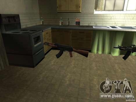 Pak domestic weapons for GTA San Andreas second screenshot