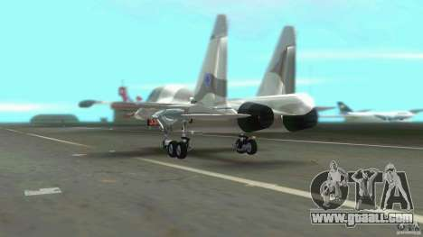 VC Air Force for GTA Vice City back view