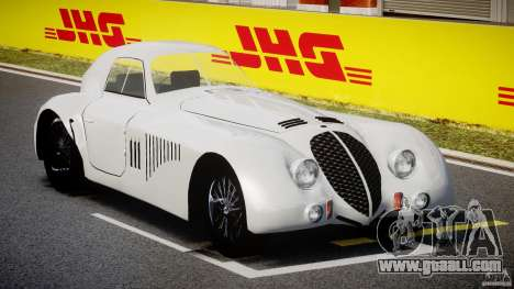 Alfa Romeo 2900B LeMans Speciale 1938 for GTA 4 right view