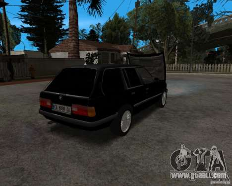 BMW 320i Touring 1989 for GTA San Andreas back view