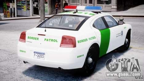 Dodge Charger US Border Patrol CHGR-V2.1M [ELS] for GTA 4 right view