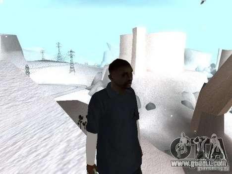 Snow MOD 2012-2013 for GTA San Andreas third screenshot