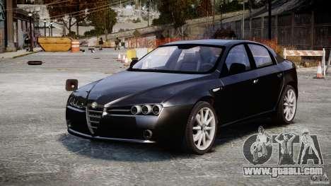 Alfa Romeo 159 Li v2 for GTA 4 right view