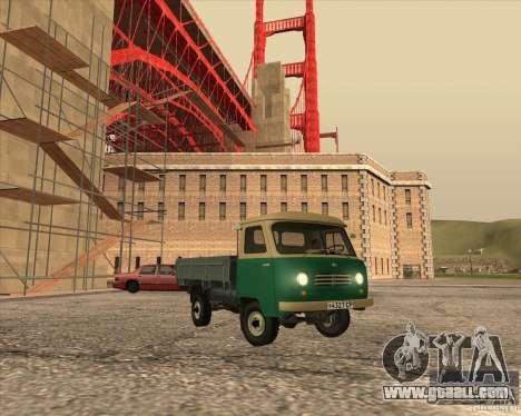 UAZ-450 d for GTA San Andreas left view