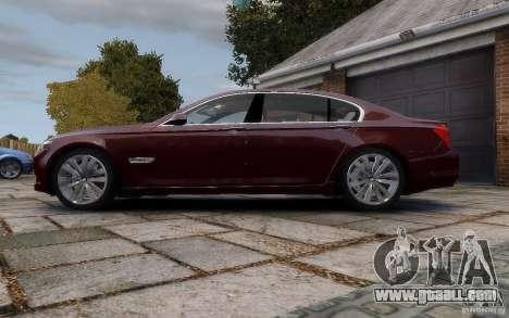 BMW 760Li 2011 for GTA 4 left view