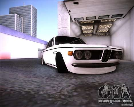 BMW 3.0 CSL Stunning 1971 for GTA San Andreas back view