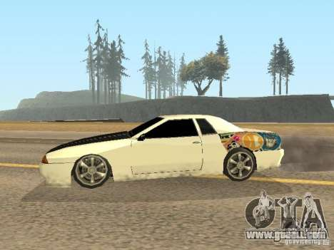 Elegy by Foresto_O for GTA San Andreas right view