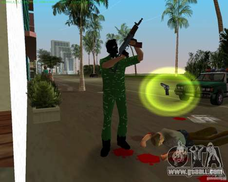AK-74U for GTA Vice City forth screenshot