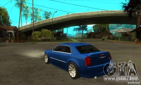Chrysler 300C SRT 8 2008 for GTA San Andreas back left view