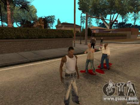 The Walking Dead for GTA San Andreas second screenshot