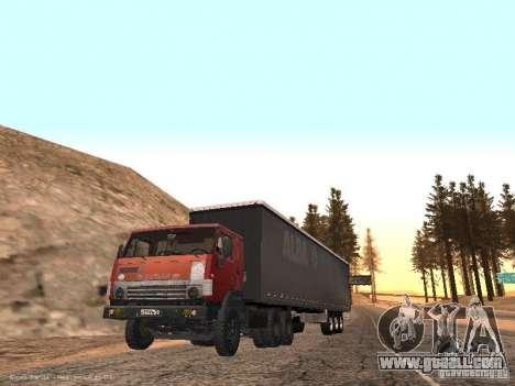 KAMAZ 5410 for GTA San Andreas right view