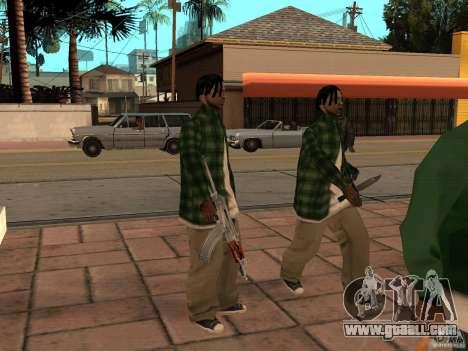 Pak domestic weapons version 3 for GTA San Andreas sixth screenshot