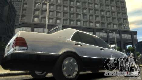 Mercedes-Benz 600SEL wheel1 tinted for GTA 4 right view