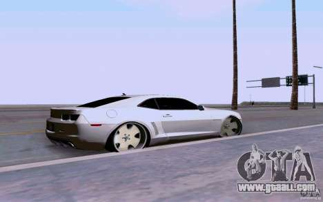 Chevrolet Camaro Super Sport 2012 for GTA San Andreas left view