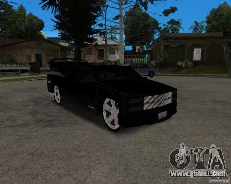 Chevrolet Silverado 1996 Lowrider for GTA San Andreas