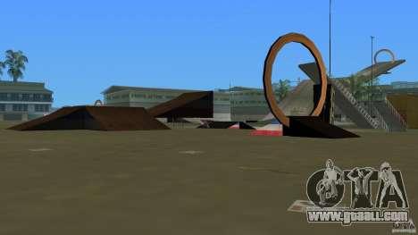 Stunt Dock V2.0 for GTA Vice City third screenshot