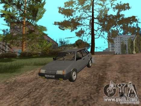 Vaz-2109 Sputnik 1987 v1.2 for GTA San Andreas